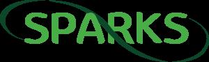 Sparks Accounting logo green-black